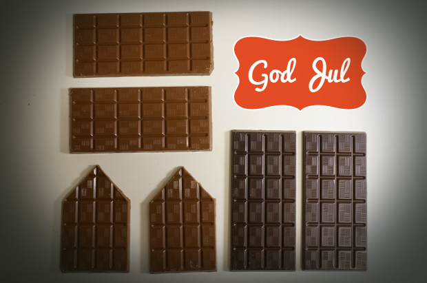 Chokladdelar